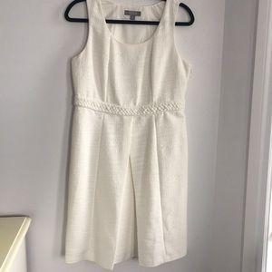 Merona Collection | sleeveless dress, white